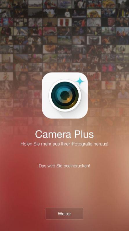 2016/19 Camera Plus