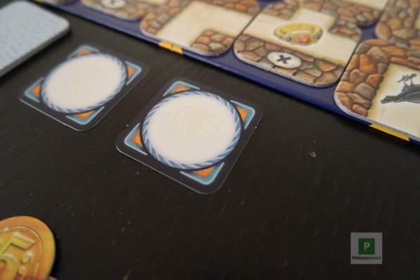 Quadratische Nachtschatzkarten