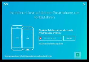 Smartphone App installieren