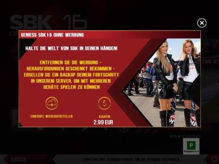 InApp Kauf gegen Werbung
