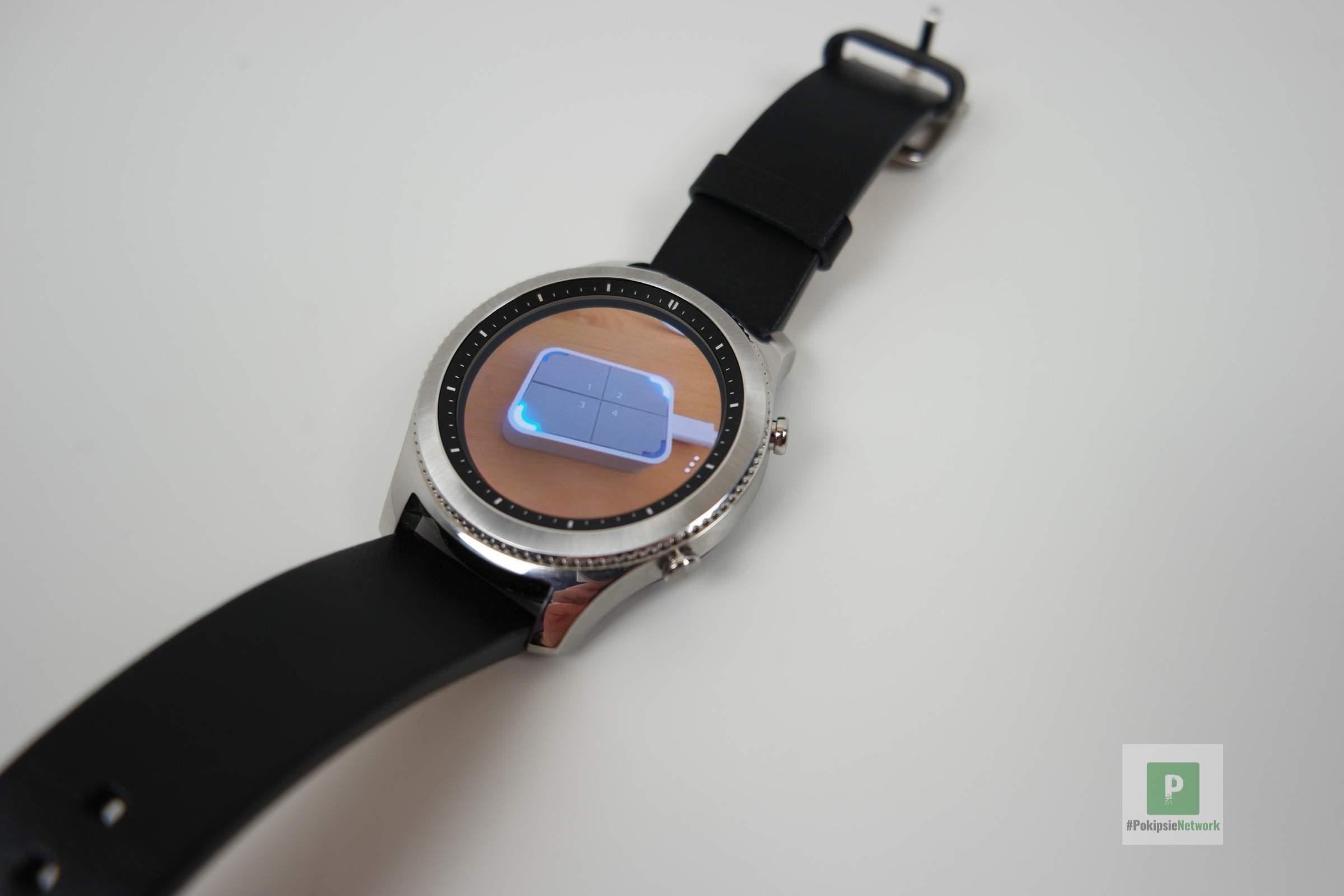 Samsung Gear S3 Classic Testbericht Pokipsies Digitale Welt Silver Bilder Betrachten Auf Der Watch