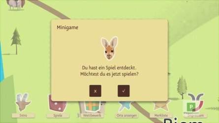 Eines der zahlreichen Mini-Spiele
