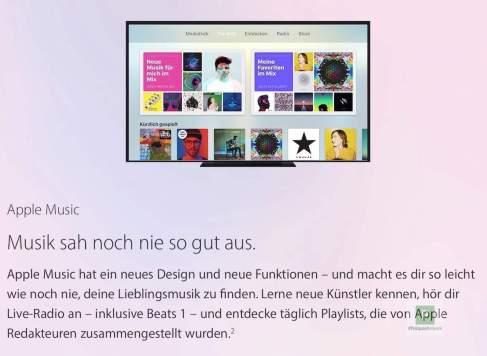 Apple Music mit neuen Playlists