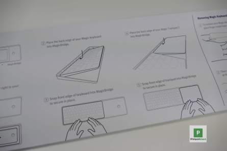 Die Anleitung in einfachen Zeichnungen