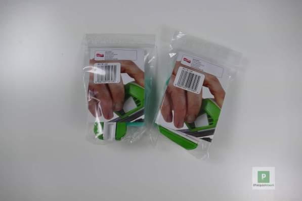 Ausgeliefert im Kunststoffbeutel
