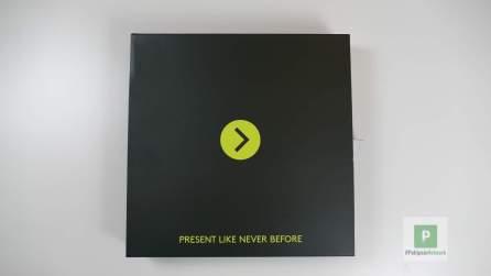 Das Promopaket von vorne