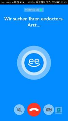 ee doctors - Arztbesuch via Smartphone