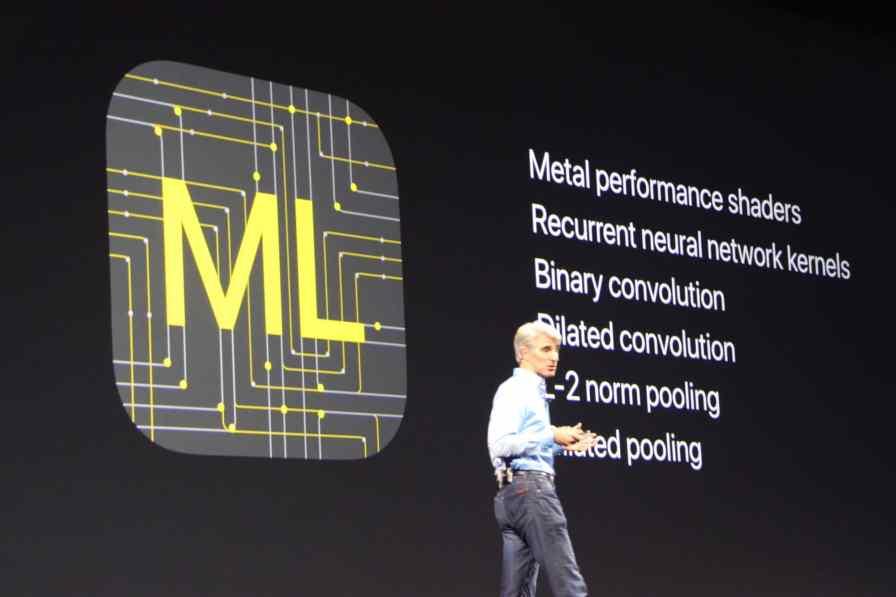 macOS High Sierra Machine Learning