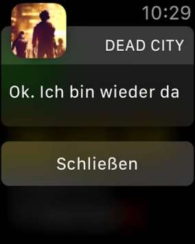 Auf der Apple Watch