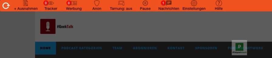 Keine Tracker im Pokipsie Network