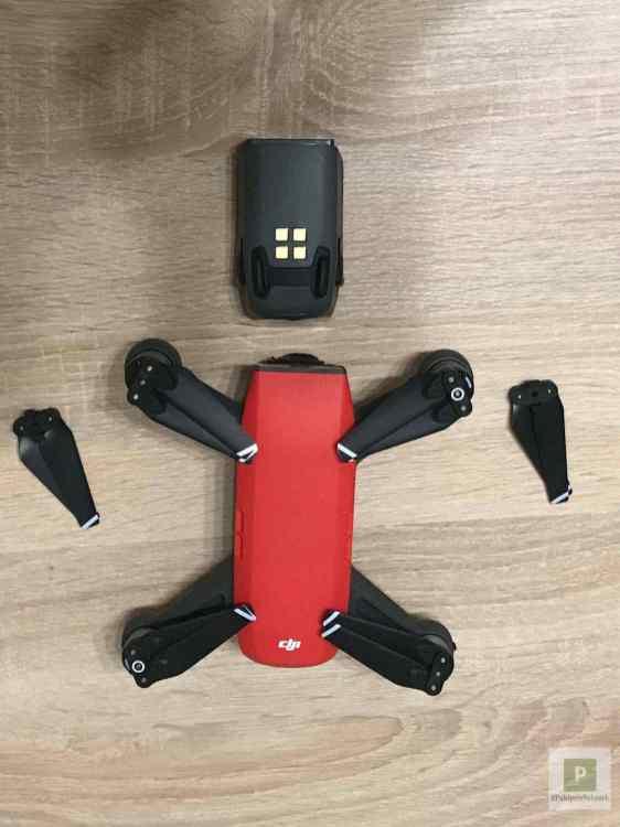 Drohne, Propeller, Akku