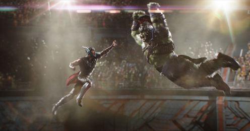 Thor - Chris Hemsworth, Hulk - Mark Ruffalo