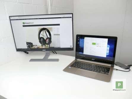 Acer Monitor im Büro