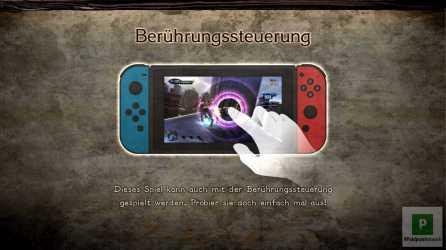 Steuerung mit Touchscreen