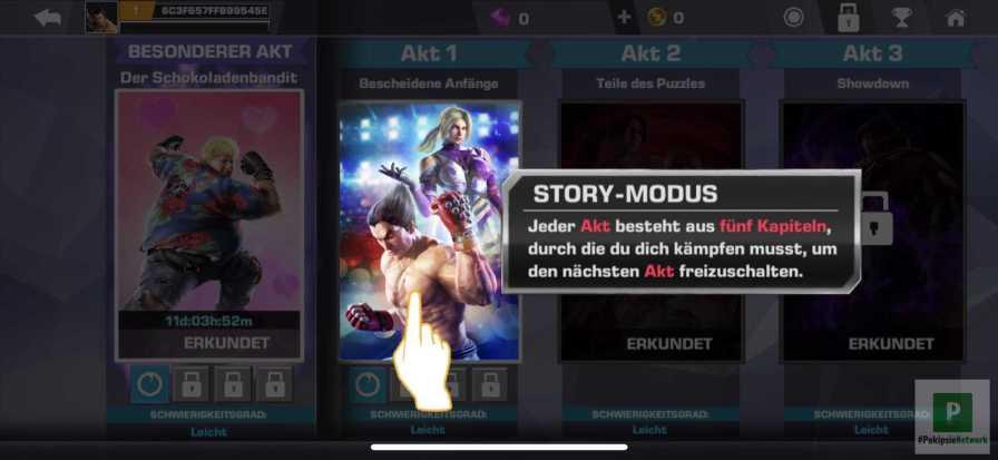 Umfrangreicher Storymodus