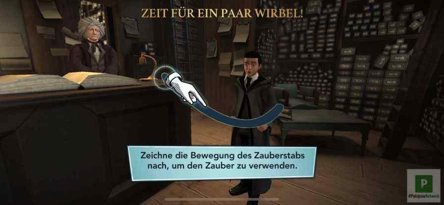 Der erste Zauberstab