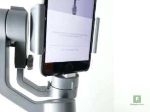 Smartphone eingedockt