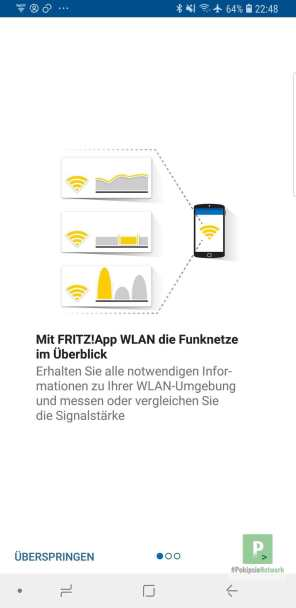 Erste Schritte mit der App