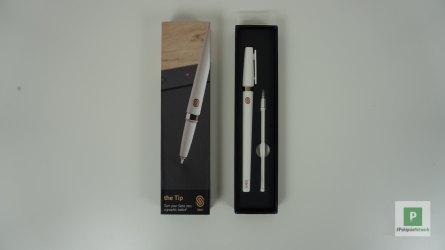 Der Stift mit Ersatz-«Patrone»