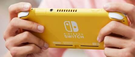 Nintendo Switch Lite Rückseite