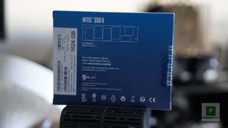 Intel 660P Verpackung Rückseite