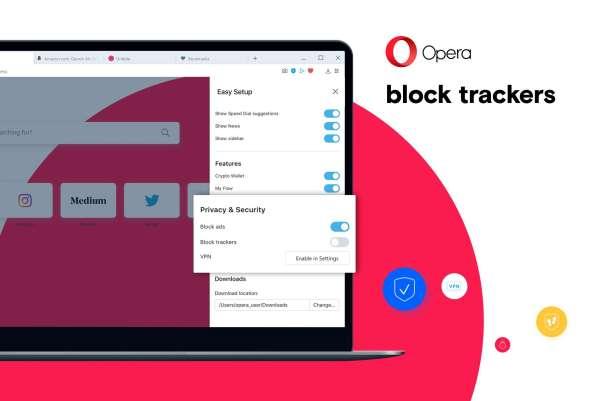 Opera Blocker Tracker