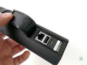 Der Ethernet-, USB-A- und microUSB-Port