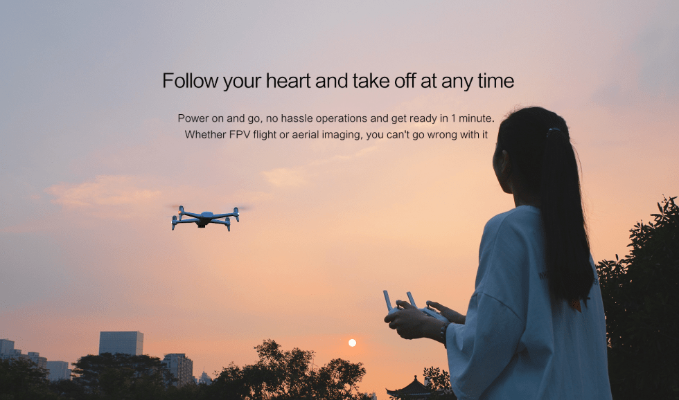 Grab The Xiaomi Fimi A3 Drone For Just 9.99(Coupon)
