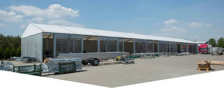 Industrial tent