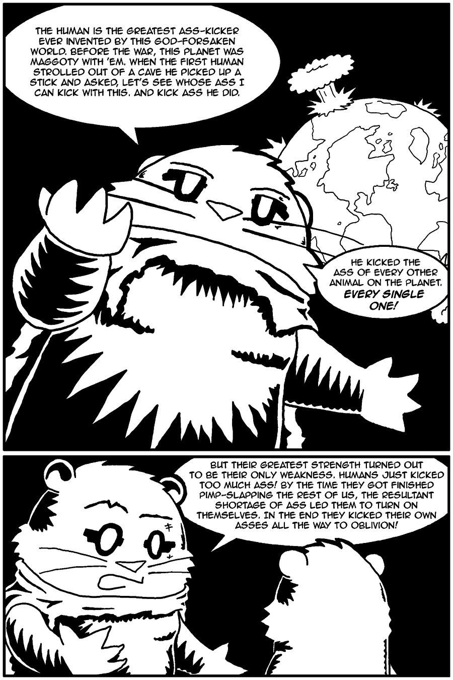 The Last Human Alive, Page 12