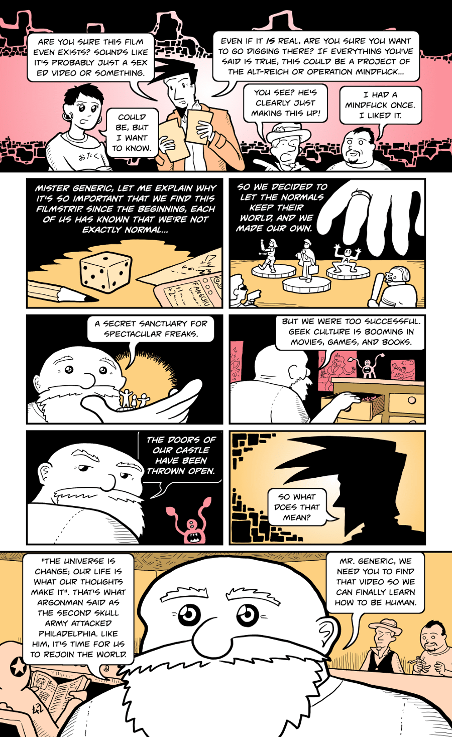 How to be Human, Day 1, Page 5