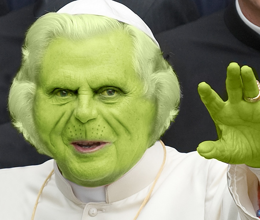 Grinch Pope