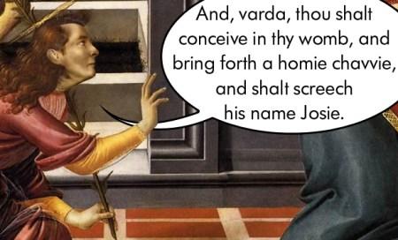 Polari Bible Cestello Annunciation