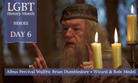 Albus Dumbledore, LGBT History Month Heroes 2012, Polari Magazine