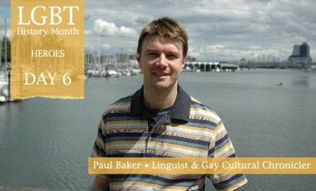 Paul Baker, LGBT History Month Heroes 2012