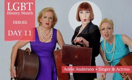Adele Anderson, LGBT History Month Heroes 2012, Polari Magazine