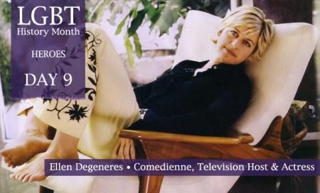 Ellen DeGeneres, LGBT History Month Heroes 2012