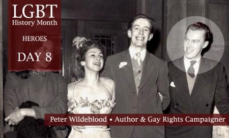 Peter Wildeblood, LGBT History Month Heroes 2012