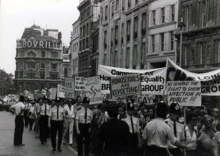 First Gay Pride March 1967