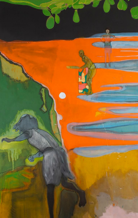 Cricket Painting (Paragrand) [2006-12] Peter Doig