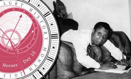 LGBT History Month Hero James Baldwin