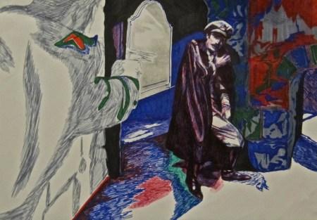 Simon Foxall, Art, Querelle