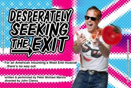 Desperately Seeking the Exit. Peter Michael Marino