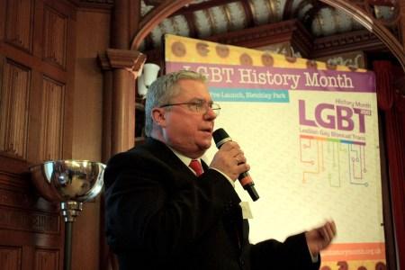 Tony Fenwick at LGBT History Month