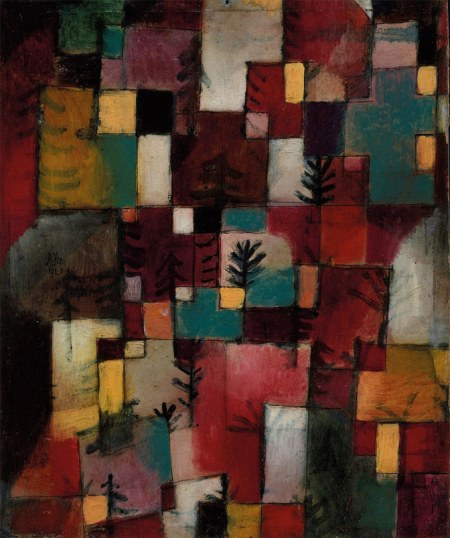 Redgreen and Violet-Yellow Rhythms, Paul Klee, Tate Modern