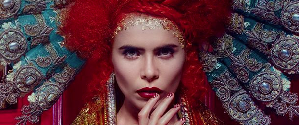 Detail of the cover art of Paloma Faith