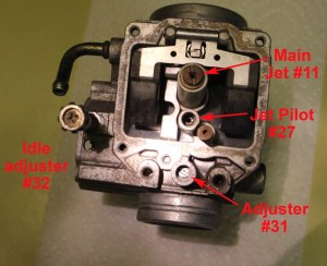 Carb adjustment for '04 Polaris 700 Sportsman  Polaris