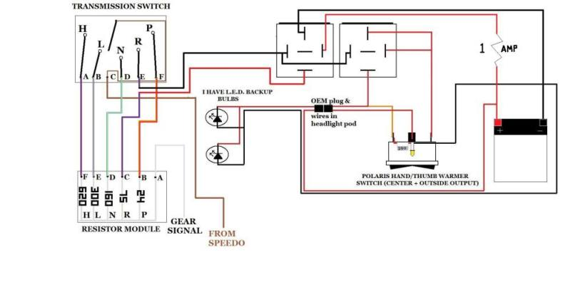 2000 polaris scrambler 50 wiring diagram for light