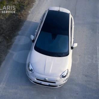 Fiat 500x Aerial Video