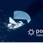Riprese aeree con droni di barche a vela